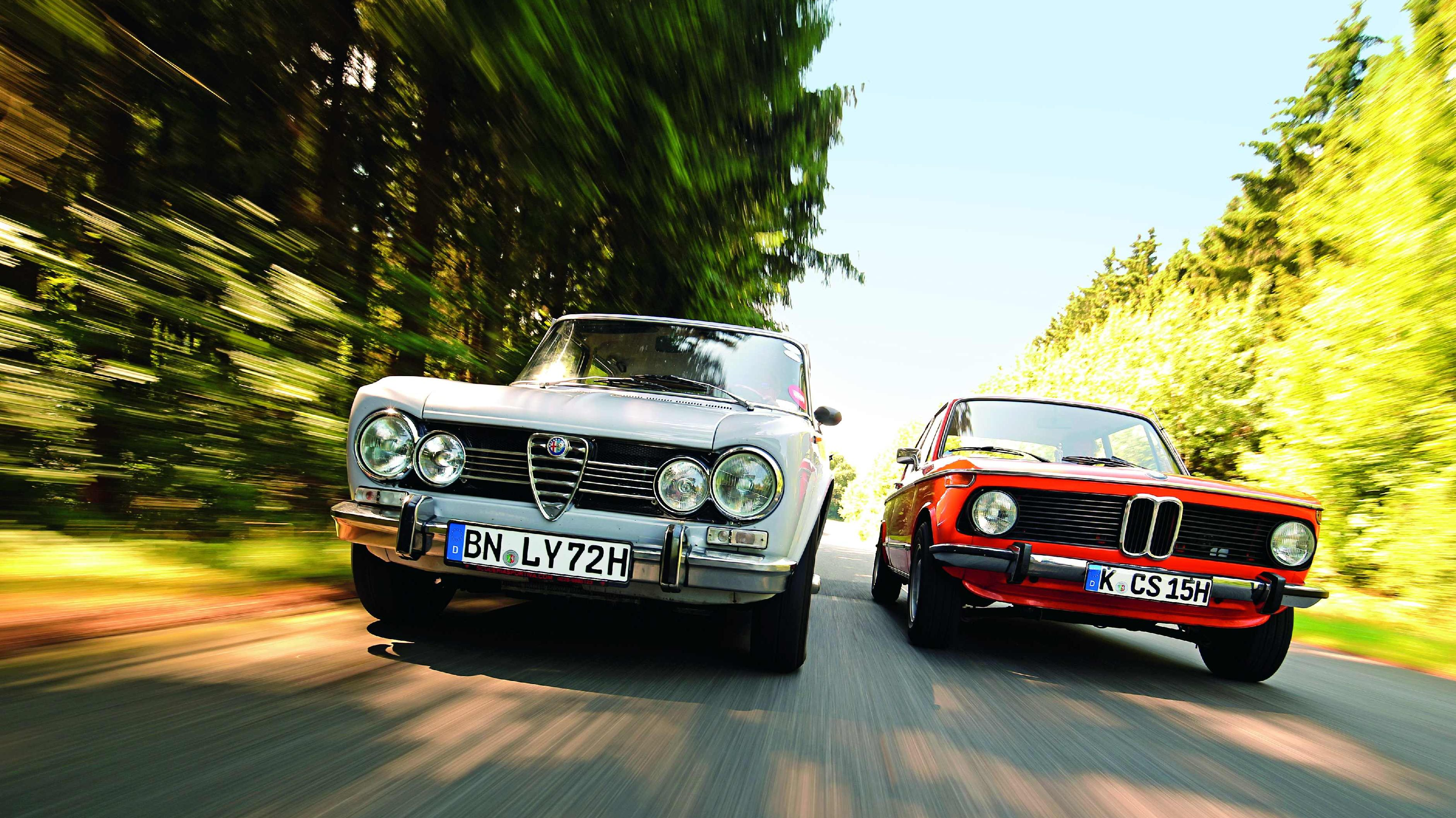 Image for Alfa Romeo Giulia Super 1.3 vs. BMW 1602. Par iz snova!