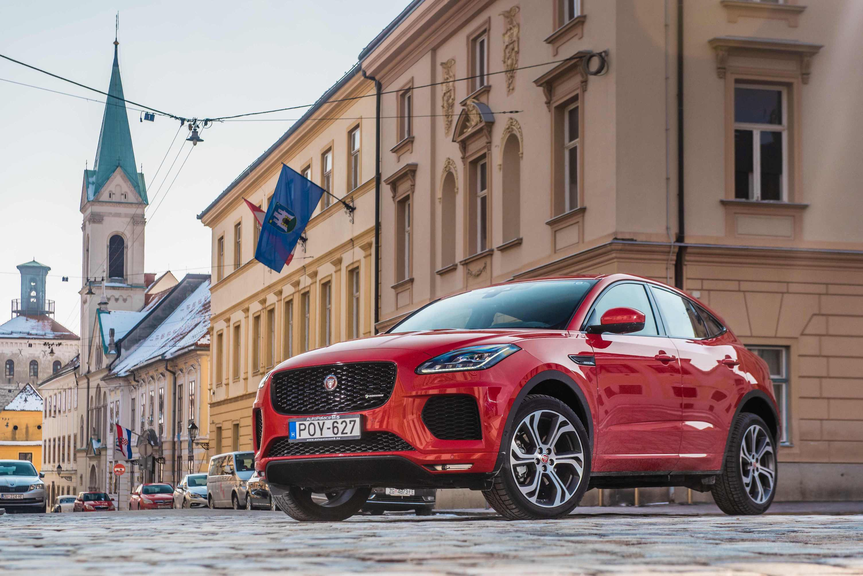 Image for Test Jaguar E-Pace D180 AWD First Edition