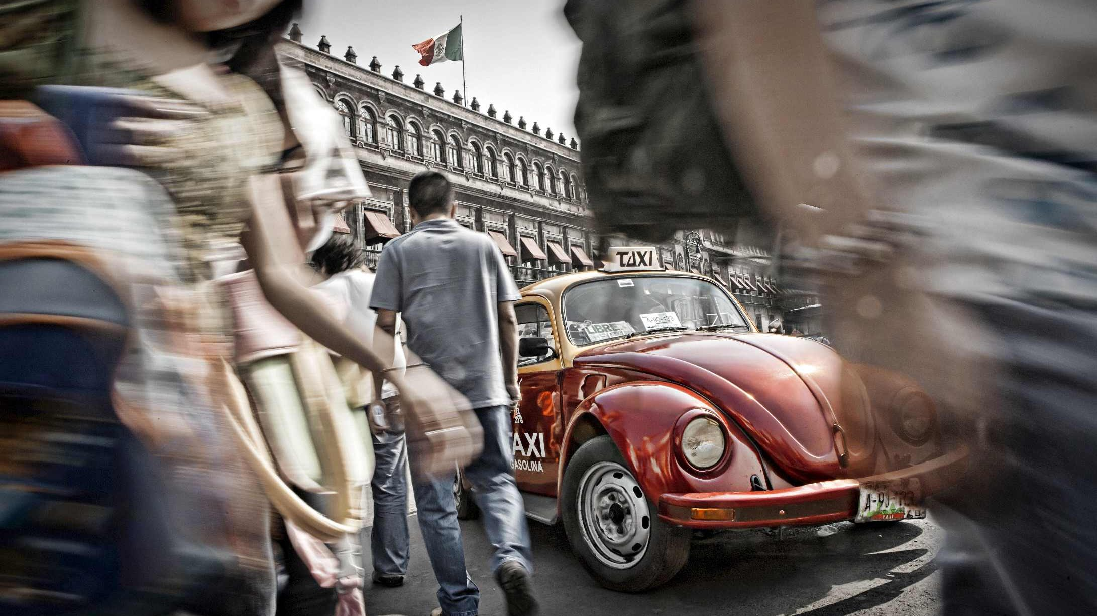Image for Mexico City – glavni grad VW Bube