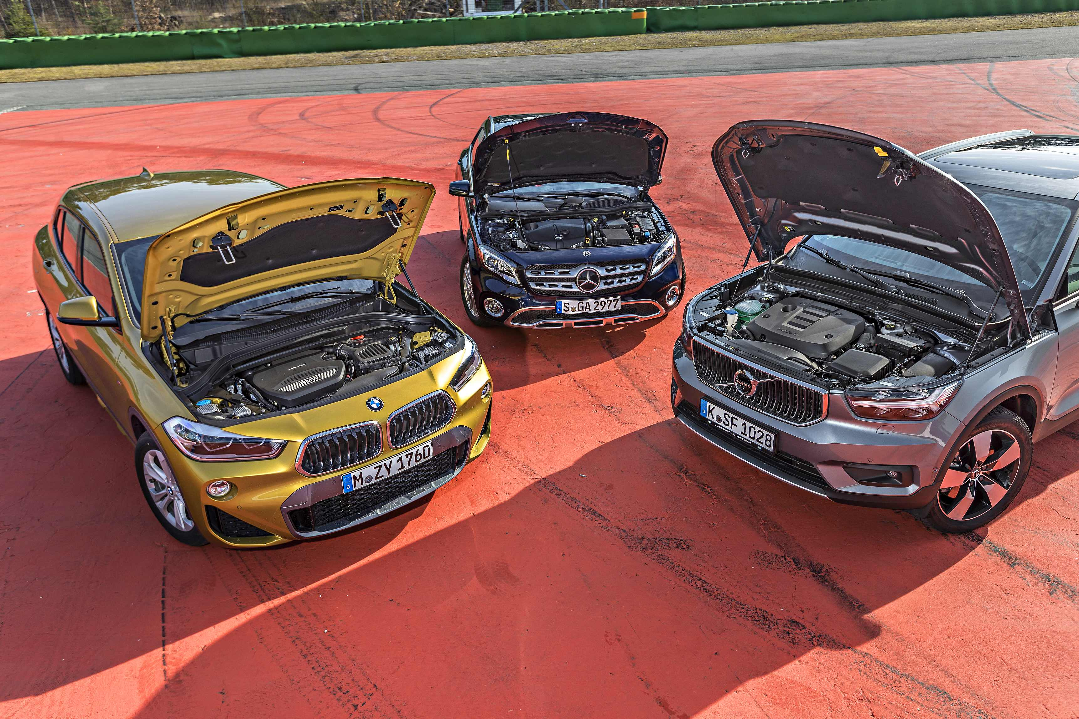Image forUsporedni test – BMW X2 vs. Mercedesa GLA vs. Volva XC40