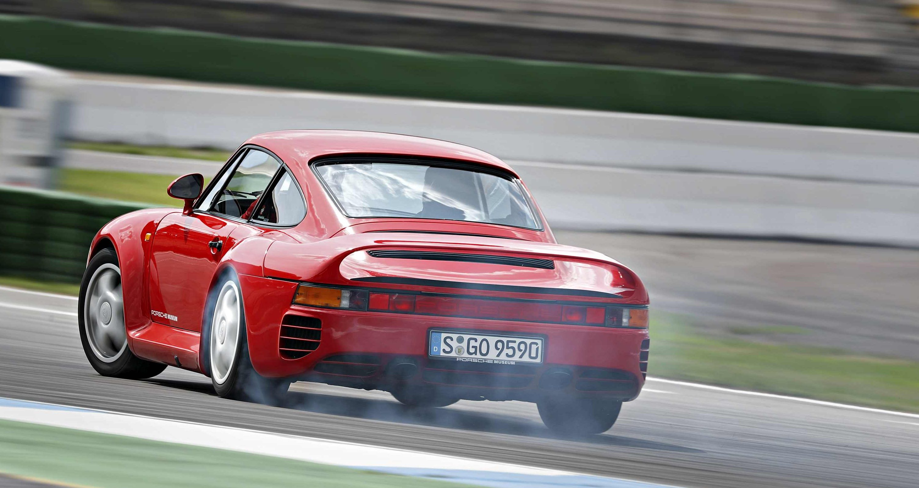 Image for Stari auto – novi test, Porsche 959