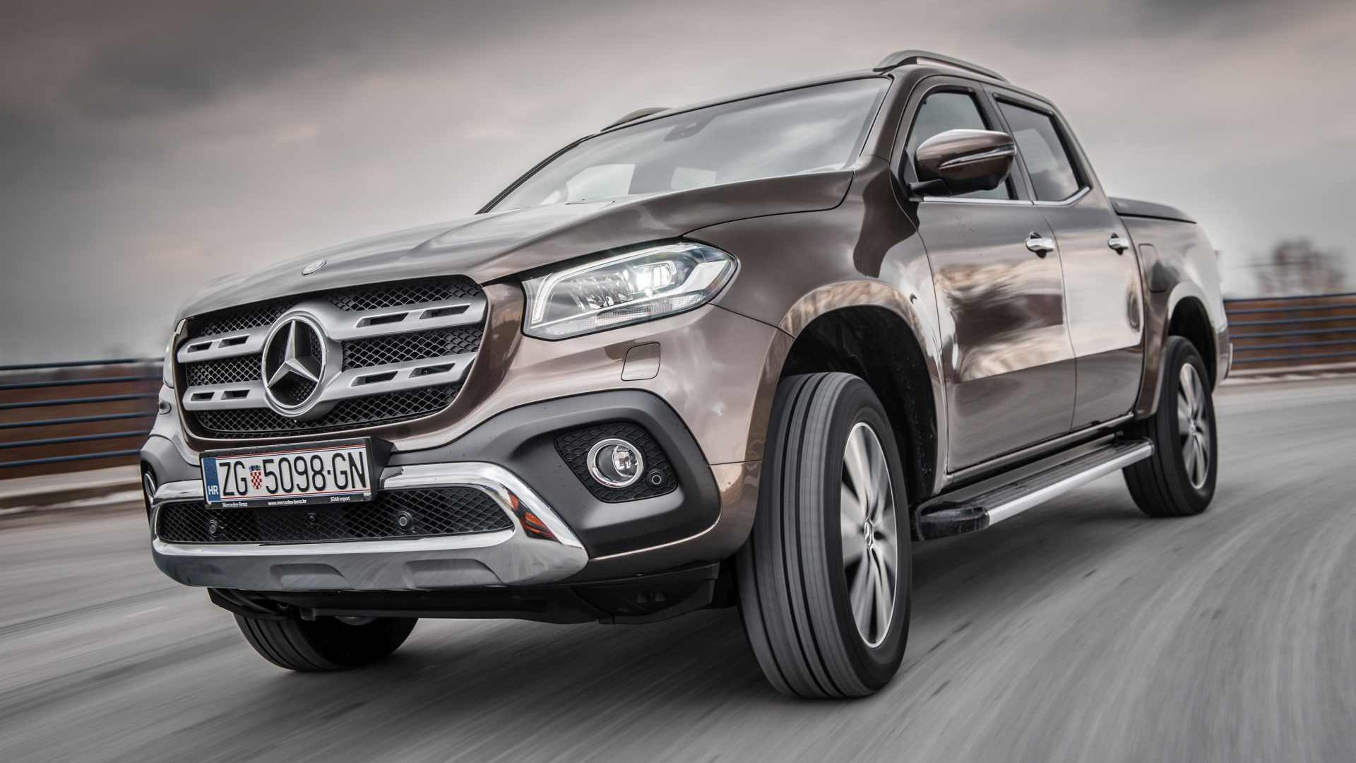 Image forTest Mercedes X-klasa 250d Power 4matic