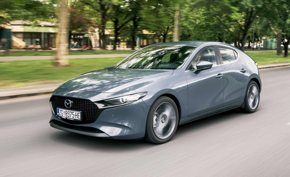 Test Mazda 3 Skyactiv-D116 Plus