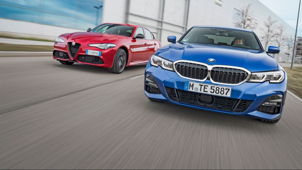 Image for Usporedni test: Alfa Romeo Giulia Veloce Ti vs. BMW 330i