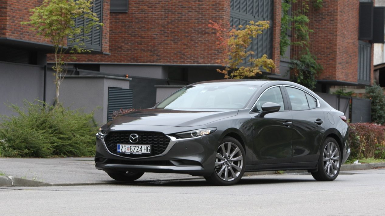 Image for Test Mazda 3 G122 AT Plus